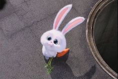 Illumination Entertainment offers up Easter greetings in a new video that promotes their upcoming The Secret Life of Pets movie, in theaters July Cute Disney Wallpaper, Cute Cartoon Wallpapers, Cute Drawings, Animal Drawings, Snowball Rabbit, Evvi Art, Cute Bunny Cartoon, Rabbit Wallpaper, Pets Movie