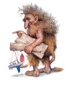 Ragazan the Troll by Jonny Andvik