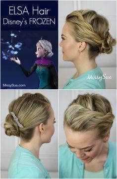 Elsa-hair-disney's-frozen-coronation