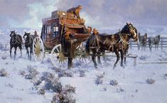 View a collection of James Reynolds westerns. Westerns, West Art, Cowboy Art, Ad Art, Country Art, Le Far West, Traditional Paintings, Old West, Pictures To Paint
