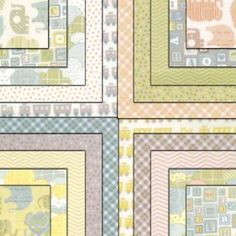 Moda Charm Pack - Wee Ones Flannels by Tim & Beck