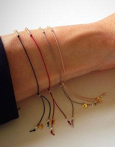 Tiny Tubes & Pearl on Silk  Gemstone by MirellaHammerJewelry