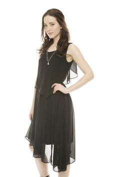 Nuvia Asymmetrical Dress