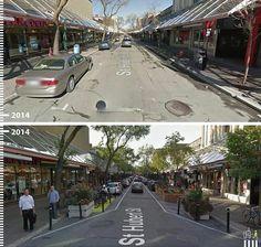 Galeria - Antes/Depois: 30 fotos que mostram que é possível projetar para os pedestres - 2
