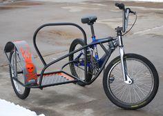 bicycle sidecar plans | Home built DIY bikes, velos, recumbents, trikes, tandems, choppers ...