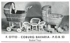 1953 F. German Toys, Bassinet, History, Vintage, Books, Home, Posters, Objects, Old Toys