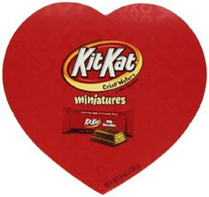 Kit Kat Valentine's Miniatures, 8 Ounce Heart Box Kit Kat http://www.amazon.com/dp/B009GGUAZO/ref=cm_sw_r_pi_dp_.XGwvb1CFZ4AG