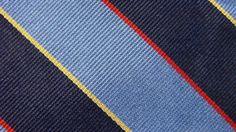 BROOKS BROTHERS FLAXBLUE RED DARK BLUE STRIPE SILK NECKTIE TIE MMA1216C #R12