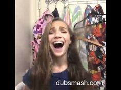 Maddie Ziegler in dubsmash - YouTube