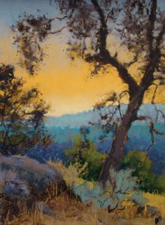 Inspirational artwork by Clark Mitchell - lovely pastel!