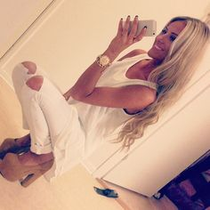 all white everything <3