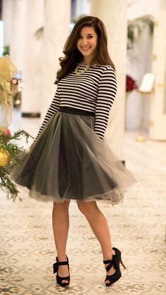 Ballerina Dreams Tulle Skirt - Gray – I Do Declare Boutique