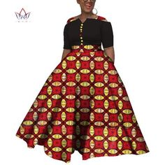 Image of 2019 African Dresses For Women Dashiki African Dresses For Women Colorful Daily Wedding Size Ankle-Length Dress African Dress Patterns, African Dresses For Kids, African Clothing For Men, Latest African Fashion Dresses, African Dresses For Women, African Print Fashion, African Attire, Style Africain, African Traditional Dresses