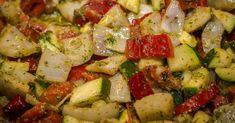 Cuisine-à-Vous: Geroosterde groenten met basilicumsaus