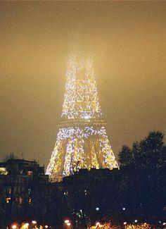 Paris beautiful even in the fog