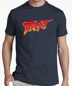 Seguro que tu también has pasado grandes tardes enganchado al televisor jugando al #StreetFighter con tus amigos! #round1 #fight #camiseta #tshirt Manga, Mens Fashion, Mens Tops, T Shirt, Clothes, Video Games, Motorcycle, Style, Funny Sweatshirts