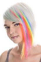 rainbow hair = super cute!