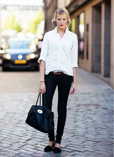 When to Tuck, When to Tie: The Ultimate Shirt Guide via @WhoWhatWear