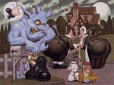 "Todd Schorr ""Pilgrams Progress"""