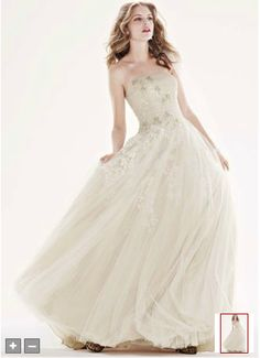 Wedding Dress. Oleg Cassini @ Davids Bridal
