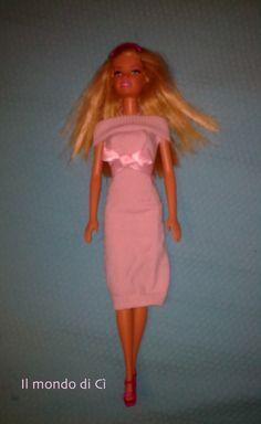 """Il Mondo di Cì: Abiti """"da bambola"""" (Barbie come """"Pretty woman""""...)"""