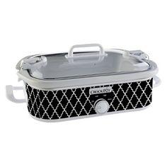 Crock-Pot® Casserole Crock Slow Cooker - Black