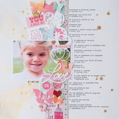 6 Ways to Embellish Scrapbook Pages Using a Series Cluster | Marie-Pierre Capistran | Get It Scrapped