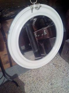 Specchio Antico Molato Primi Del '900 Cm 24 X 18 Cm Clear-Cut Texture Arredamento D'antiquariato