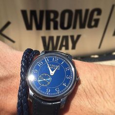 And now she's teasing us with her beautiful ocean blue dial. (@wisewatch via @thewrongwrist)  Affordability: 3/5 Versatility: 4/5 Practicality: 2/5 Finishing: 5/5 Aesthetics: 5/5 Fun-Factor: 5/5 by haulogerie
