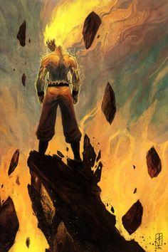 Legendary Warrior, Super Saiyan Goku