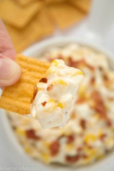Yummy corn dip with cream cheese is an easy to make appetizer! Use all that fresh corn on the cob to make crock pot corn dip with sour cream for a great snack anytime. Corn dip is a great game food too!