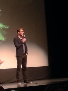 Guess who just showed up for a q&a at the second screening of ISTL…with glasses on…