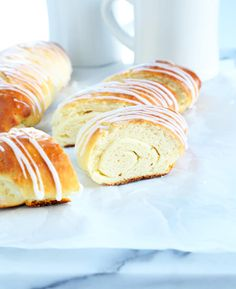 Gluten Free Danish Bread with cheesecake filling