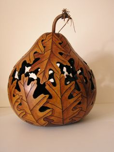 Art - carved from a gourd - Amazing and Beautiful!!