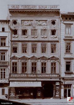 Karmelicka 16, Kraków - 1905 rok, stare zdjęcia