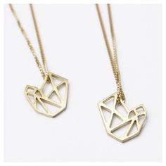 DV JEWELLERY - Bespoke Pieces - Handcut goldplated silver pendants - Graphic Jewels