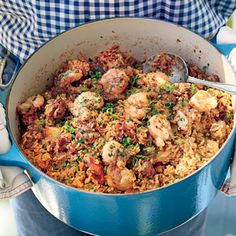 "Creole Seafood Jambalaya | MyRecipes.com ""My family has been making a version of this dish for generations.""--chef John Besh"
