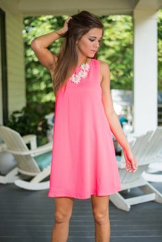 All About The Chase Dress, Hot Pink #pink #dress #summerstyle