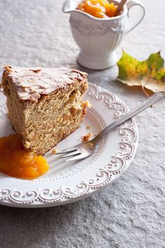 Just My Delicious English Version: Pumpkin Cake