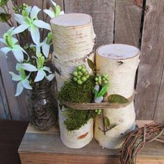 Best Birch Wood Wedding Centerpieces Products on Wanelo