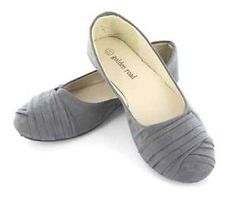 New Women's Fashion Classic Hot Stylish Design Soft Grey Gray Ballet Flats Shoes | eBay