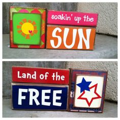 summer and fourth of july reversible decor sawdustsanity