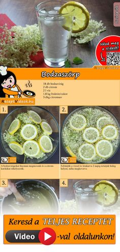 Discover recipes, home ideas, style inspiration and other ideas to try. Dessert Drinks, Dessert Recipes, Hungarian Recipes, What To Cook, Perfect Food, Lunches And Dinners, Diy Food, No Cook Meals, Food Hacks