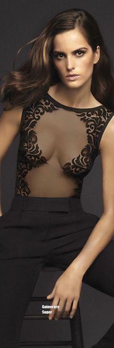Izabel Goulart for La Perla - bit more coverage, Latin dress bodice. Izabel Goulart, Jolie Lingerie, Luxury Lingerie, Elite Model, Couture Fashion, London Fashion, Cool Outfits, Fashion Dresses, Prom Dresses