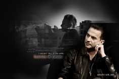 Blessed or Cursed by Useless-girl.deviantart.com on @deviantART.  Lovely photographic art of Dave Gahan of Depeche Mode with Martin Gore in the background.