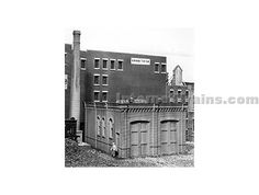 Scale Structures HO Scale Edison Street Powerhouse Kit