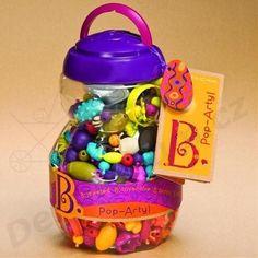 B.Toys navlékací korále a tvary Pop Arty 500 ks   Dětský dům - Kočárky, dětské a kojenecké potřeby, autosedačky