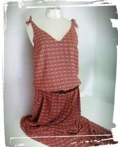 Wie macht man ein langes böhmisches Kleid Bohemian Comment of The Dress, Dress Skirt, Coin Couture, Bohemian Style Dresses, Wie Macht Man, Trends, To My Daughter, Fashion Dresses, My Style