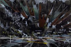 david schnell artist painter two painting Illustration Pop Art, Illustrations, 2d Art, Contemporary Landscape, David, Painting & Drawing, Art History, Modern Art, Street Art