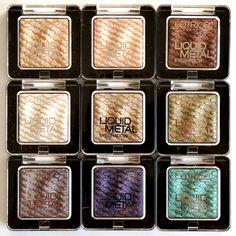 Catrice Liquid Metal Eyeshadows - Highly pigmented